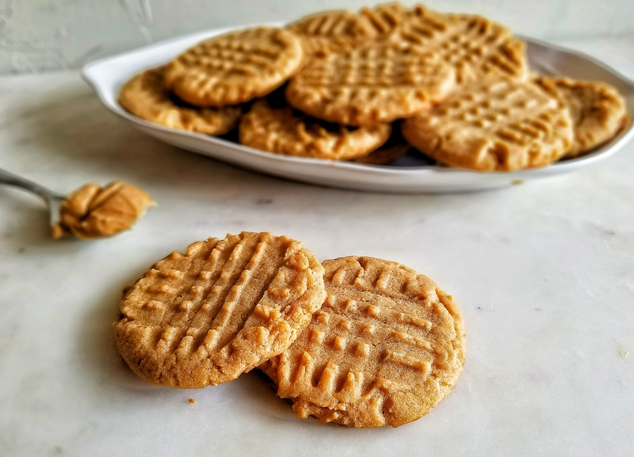Extra Soft Peanut Butter Cookies