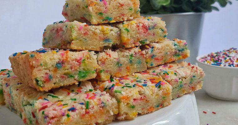 Sprinkle Sugar Cookie Bars
