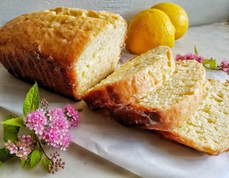 Glazed Lemon Cake Loaf