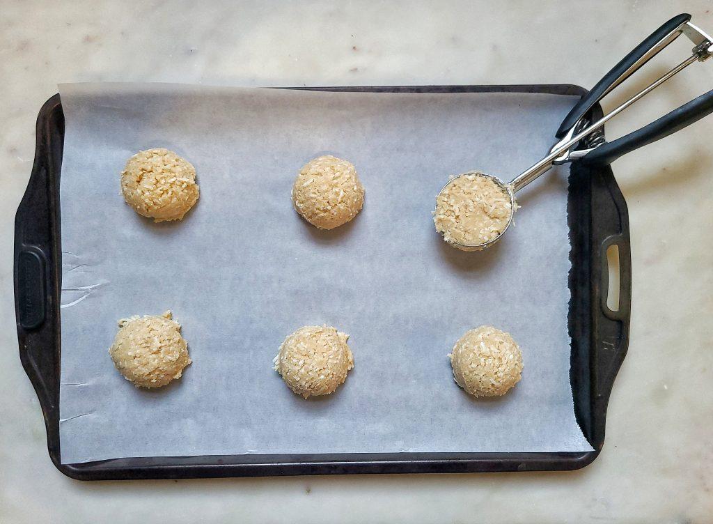 coconut cookie dough
