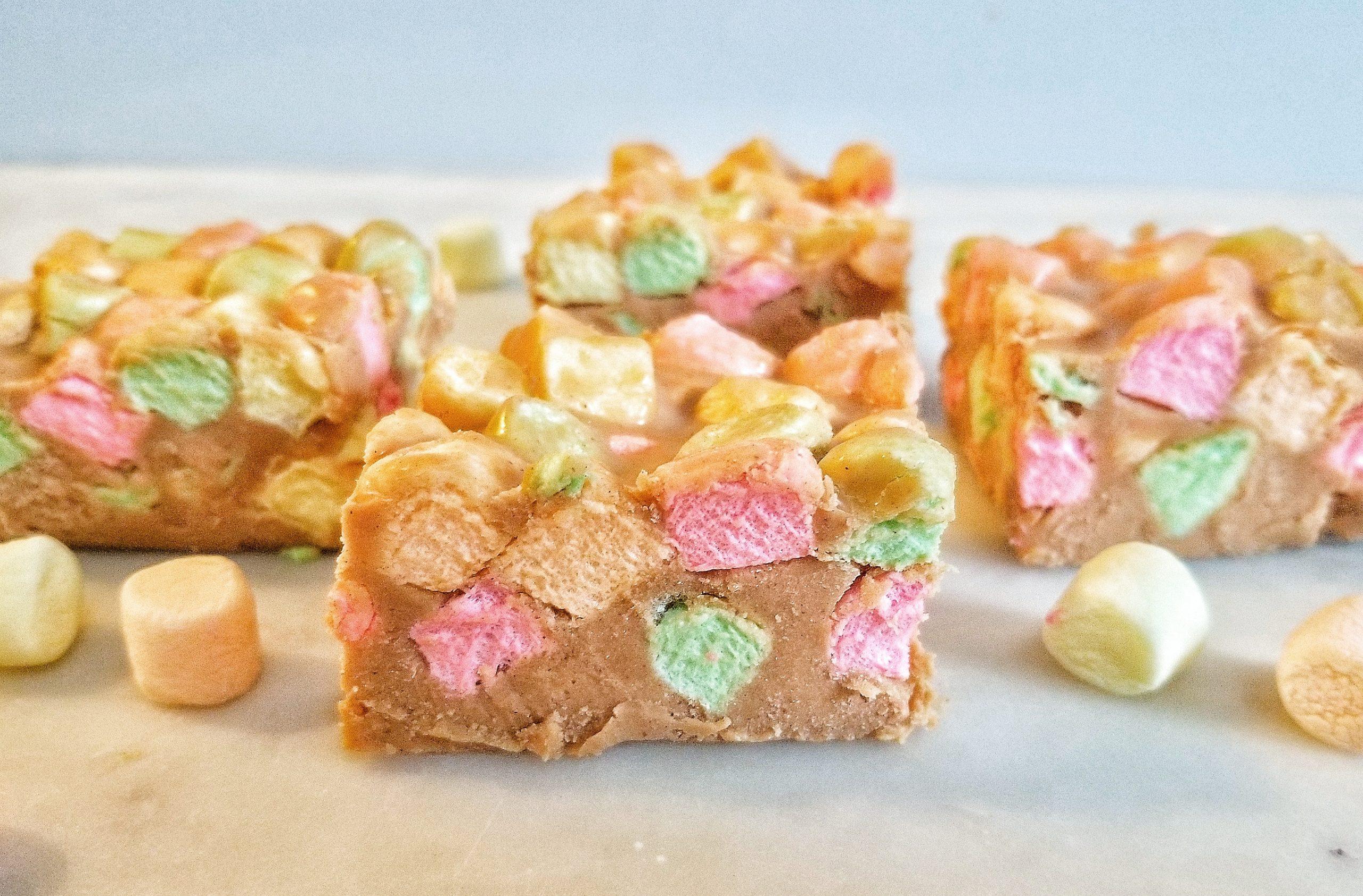 Confetti Squares – Peanut Butter Marshmallow Squares