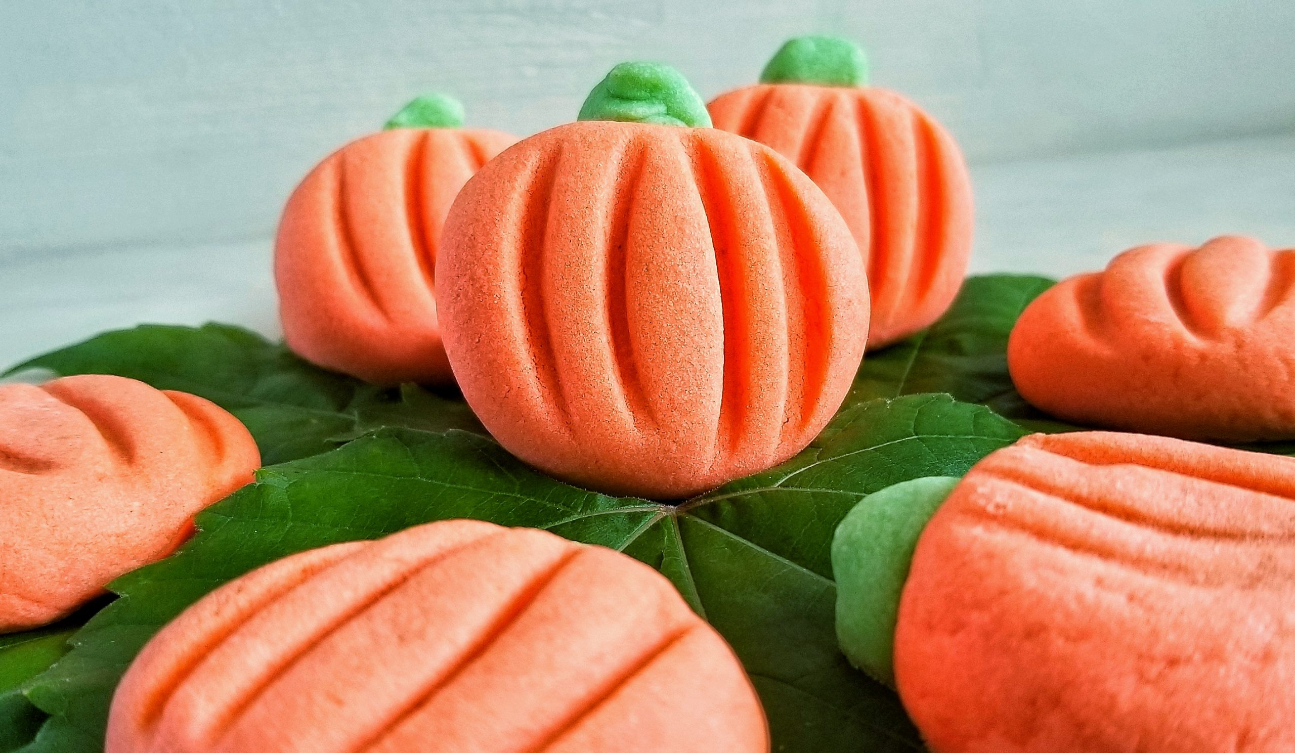 Melting Moments Pumpkin Cookies