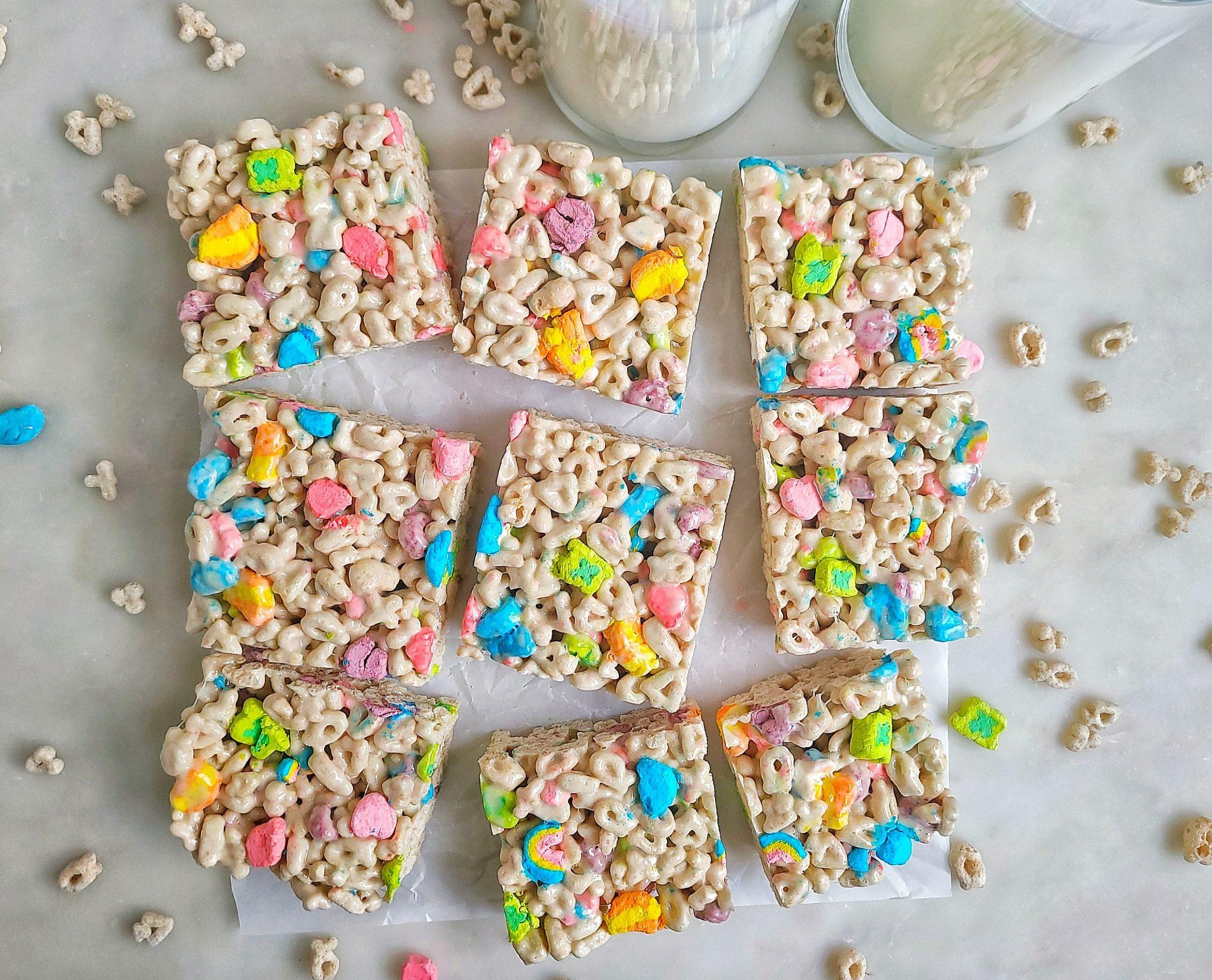 Lucky Charms Marshmallow Treats