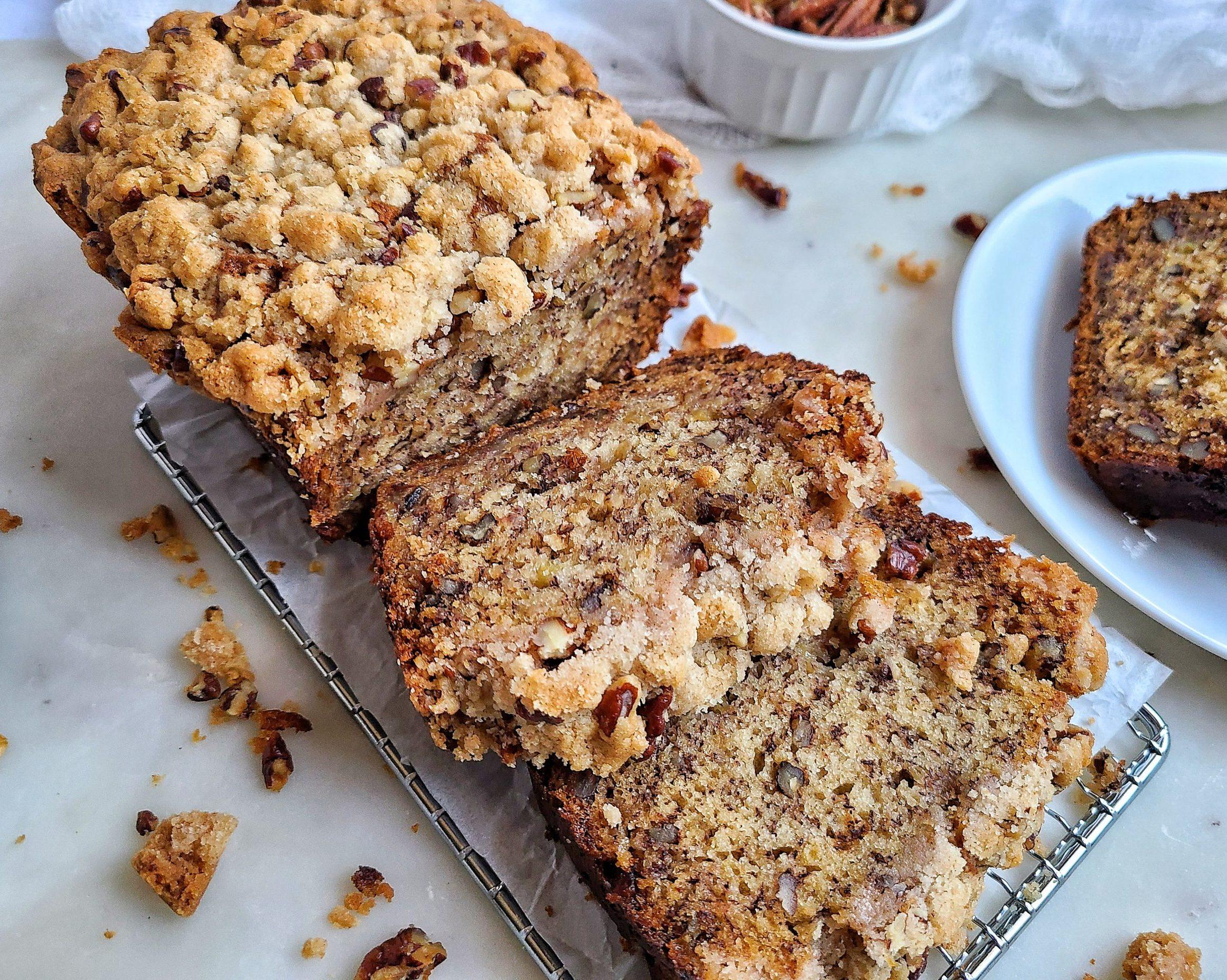 Banana Nut Crunch Bread